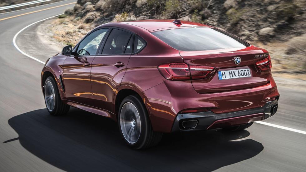 Suv más lujosos BMW X6 zaga