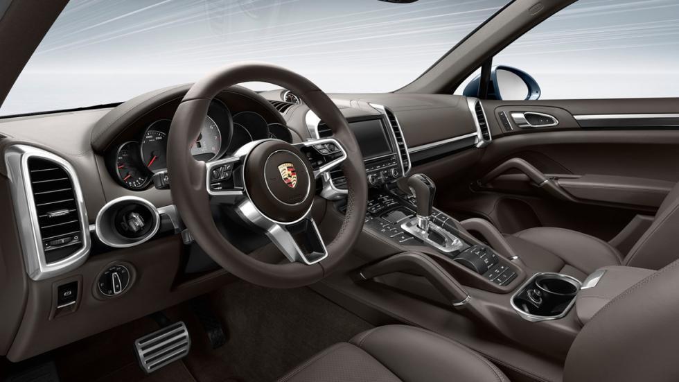 Suv más lujosos Porsche Cayenne interior