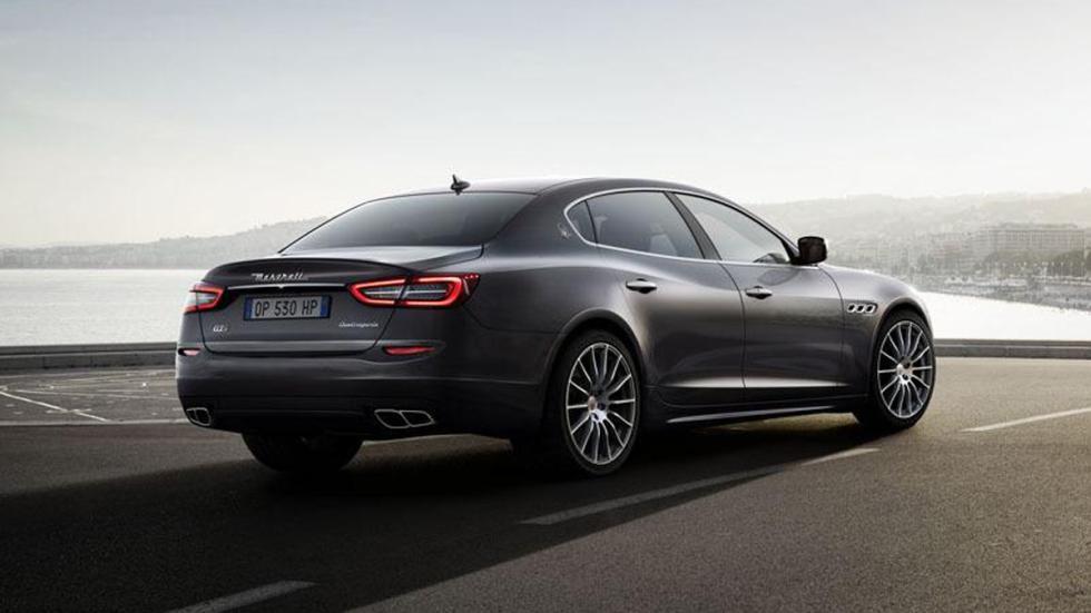 Maserati Quattroporte GTS 2015 zaga