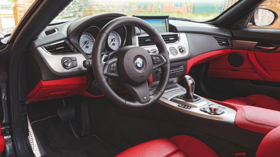 BMW Z4 salpicadero
