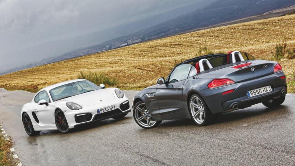 Cara a cara Porsche Cayman GTS vs BMW Z4