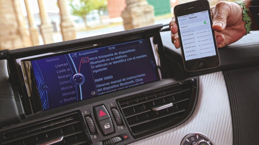 BMW Z4 conectividad