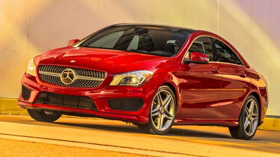 Coches menos fiables estados unidos Mercedes CLA 250
