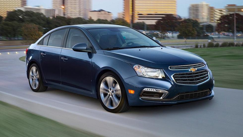 Coches menos fiables estados unidos Chevrolet Cruze