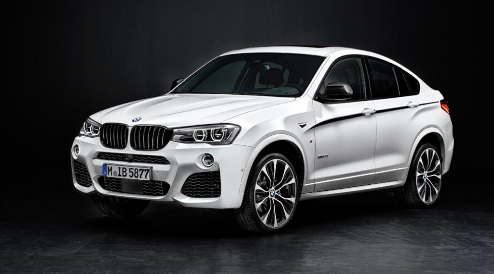 bmw x4 m performance