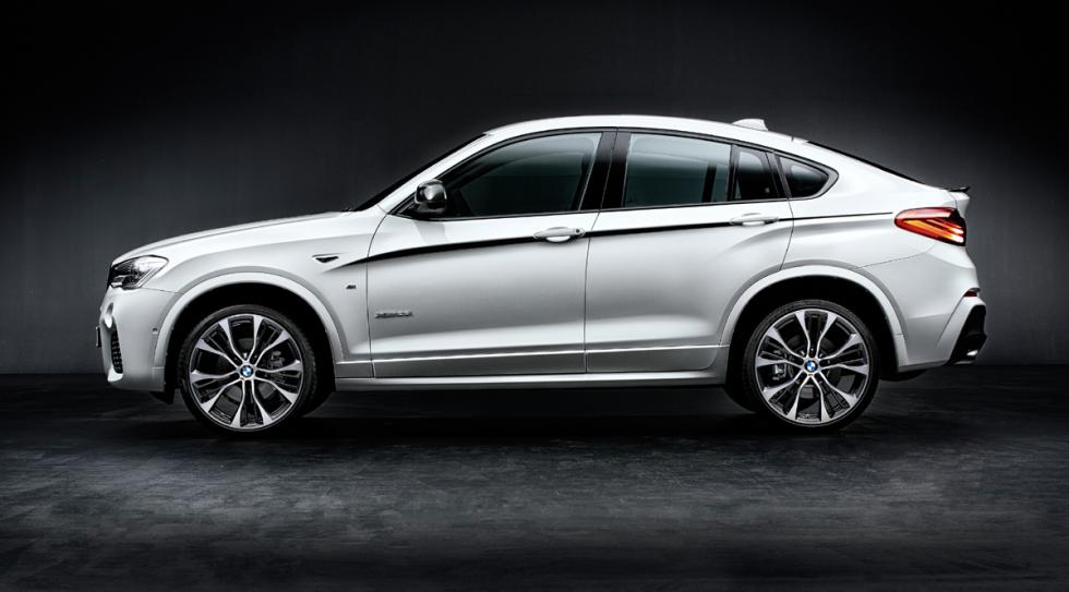 bmw x4 m performance lateral