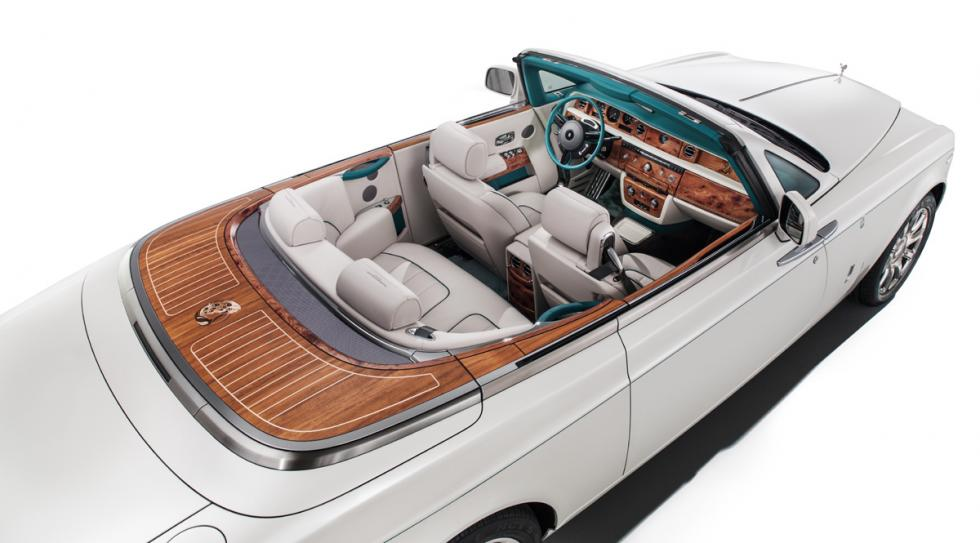 Rolls-Royce Phantom Drophead Coupé Maharajá interior