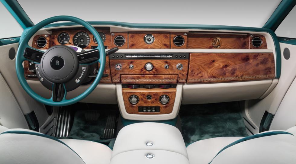 Rolls-Royce Phantom Drophead Coupé Maharajá salpicadero