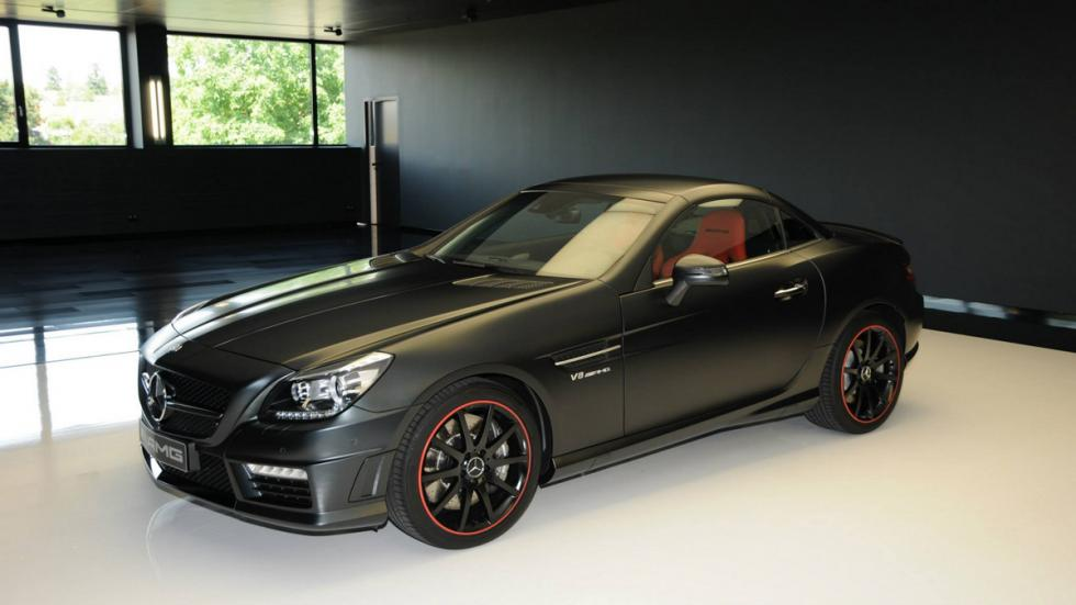 Mercedes SLK 55 AMG Performance Studio - 3/4 delantero