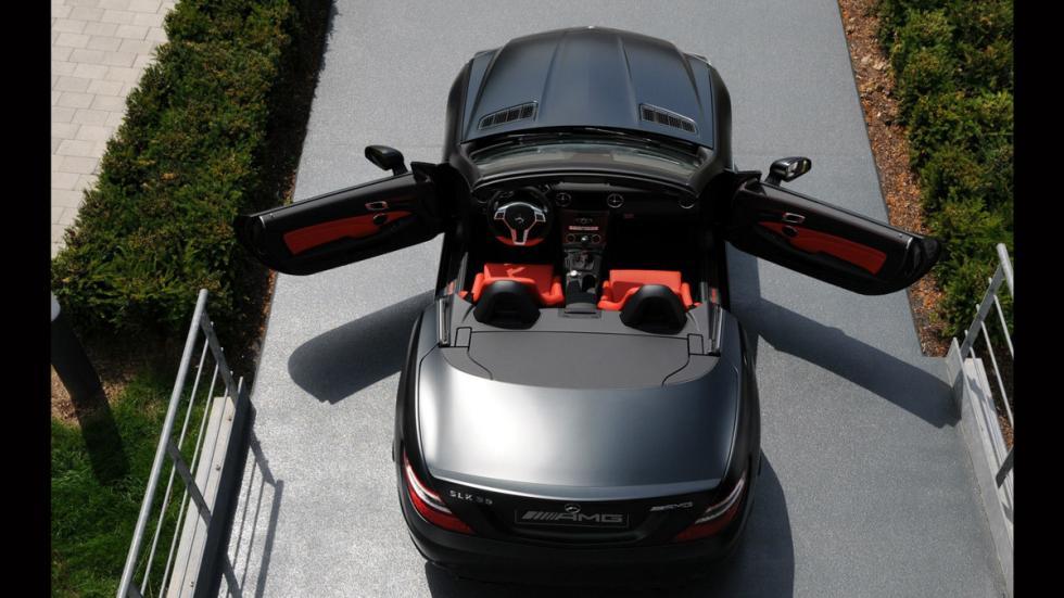 Mercedes SLK 55 AMG Performance Studio - cenital