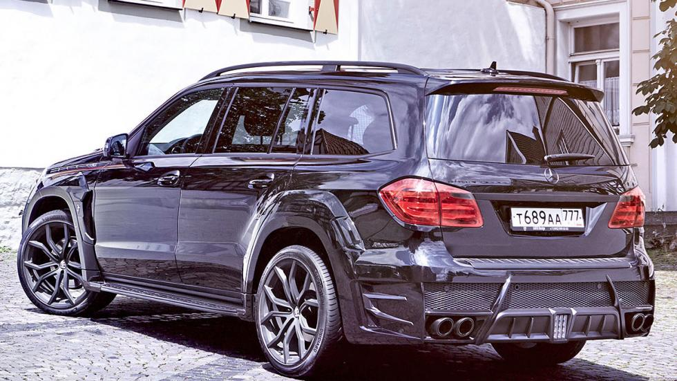 Mercedes GL de Larte Design