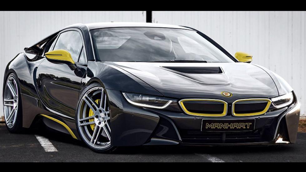BMW i8 de Manhart