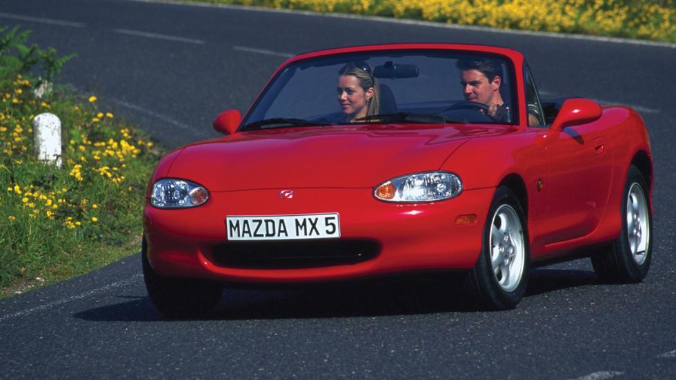 coches japoneses cambiaron mundo Mazda MX-5 frontal