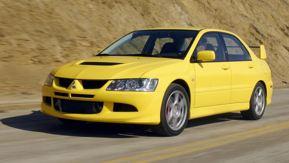 coches japoneses cambiaron mundo Mitsubishi Lancer EVO VIII