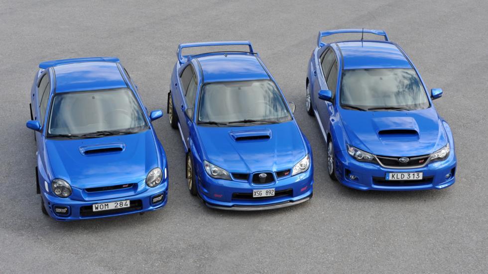 coches japoneses cambiaron mundo Subaru Impreza WRX STI