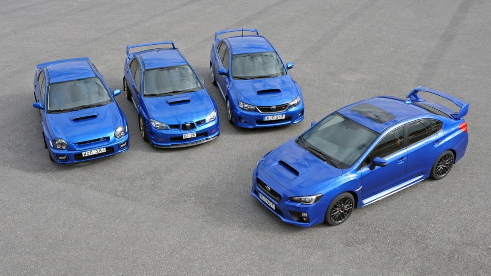 coches japoneses cambiaron mundo Subaru Impreza WRX STI grupo
