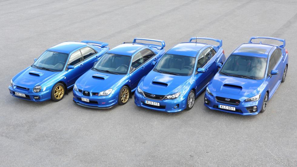coches japoneses cambiaron mundo Subaru Impreza WRX STI delantera