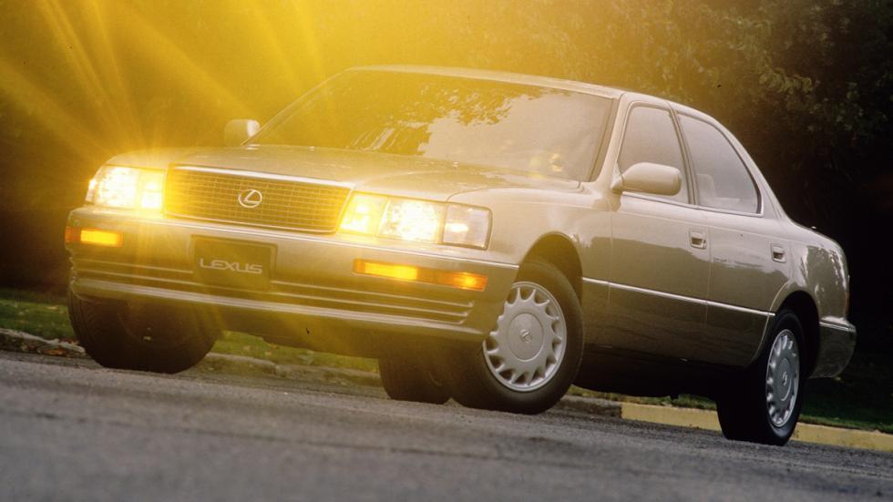 coches japoneses cambiaron mundo Lexus LS