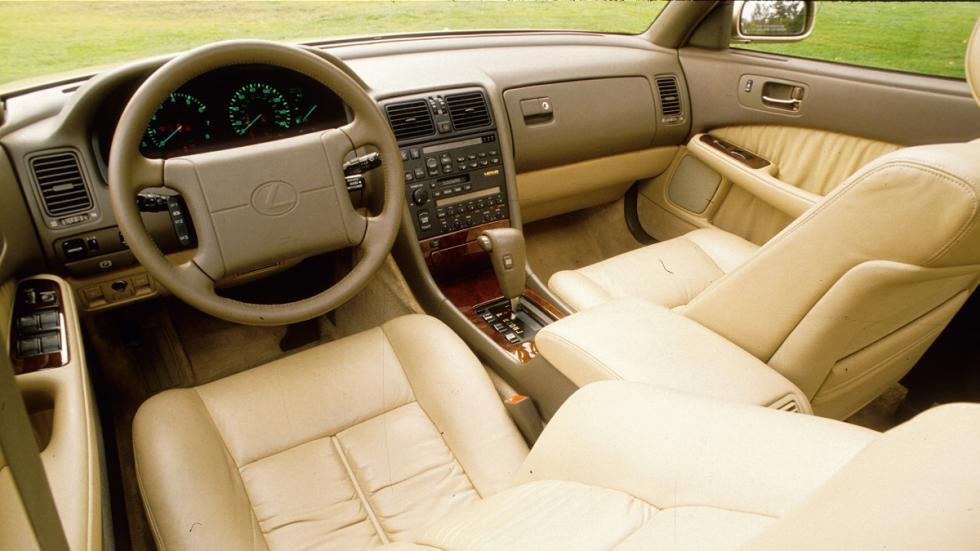 coches japoneses cambiaron mundo Lexus LS interior