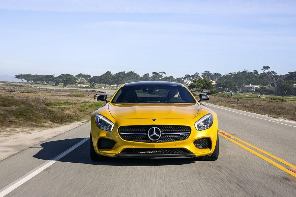Prueba: Mercedes AMG GT S 3