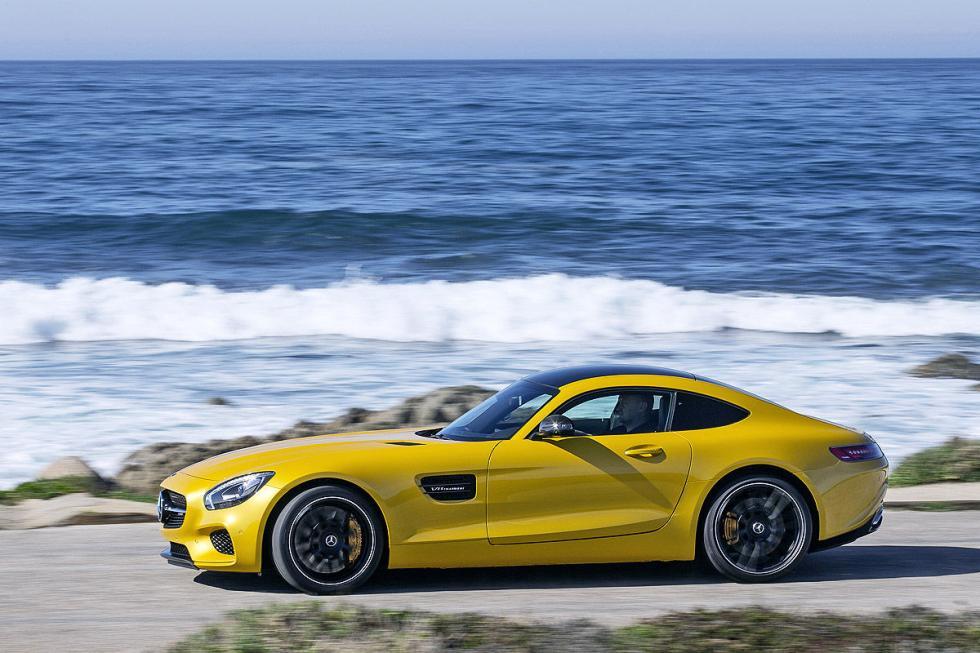 Prueba: Mercedes AMG GT S 5