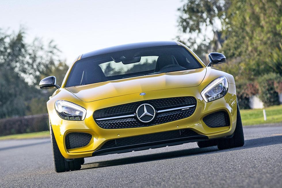 Prueba: Mercedes AMG GT S 8