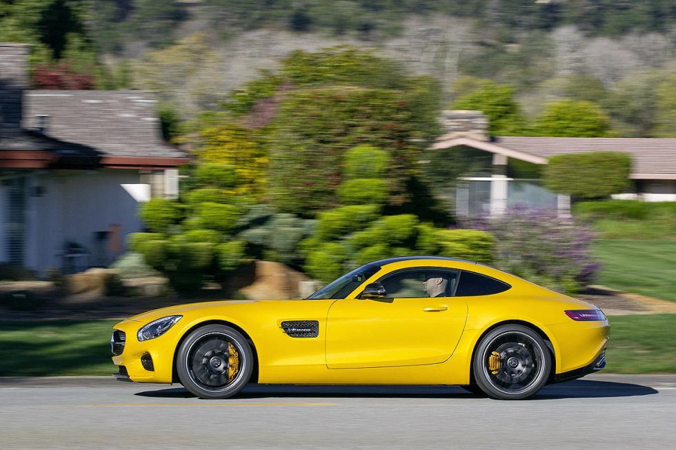 Prueba: Mercedes AMG GT S 9