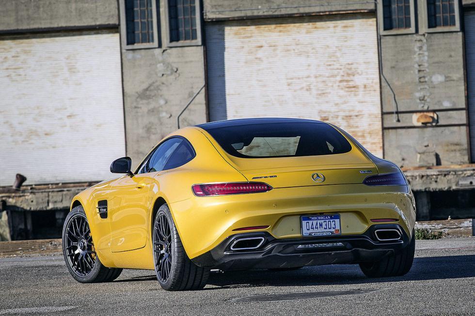 Prueba: Mercedes AMG GT S 11