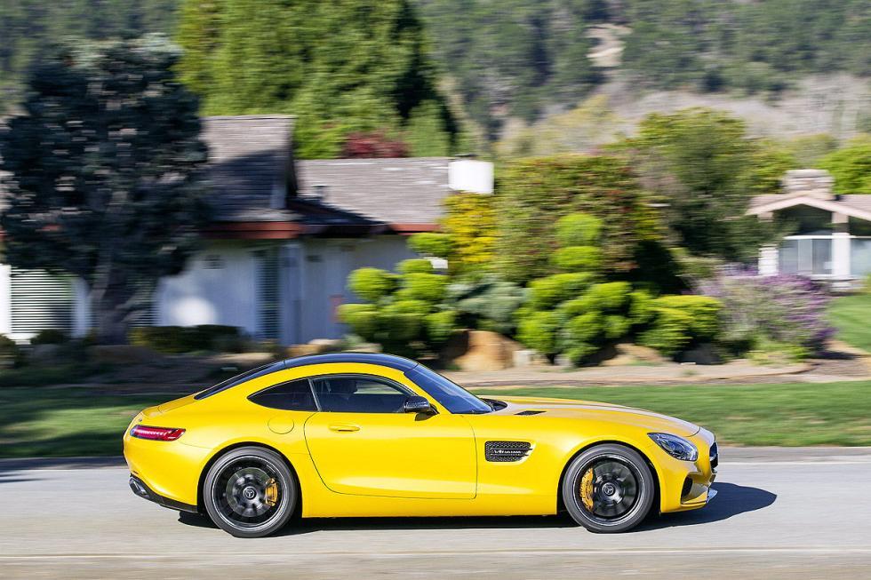 Prueba: Mercedes AMG GT S 14