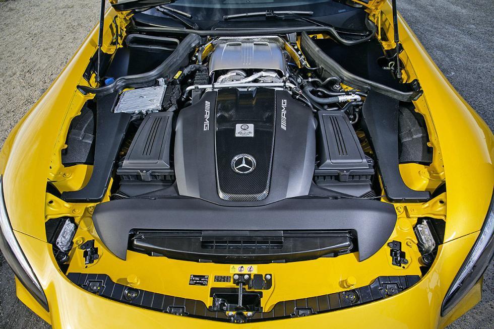 Prueba: Mercedes AMG GT S 15