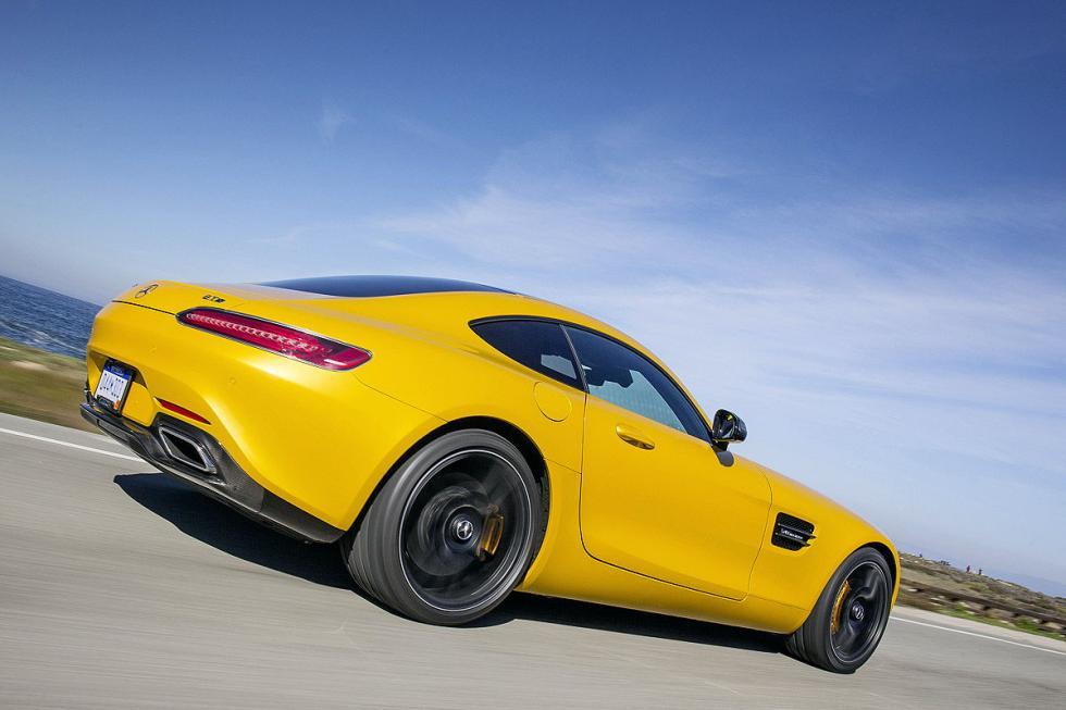 Prueba: Mercedes AMG GT S 16