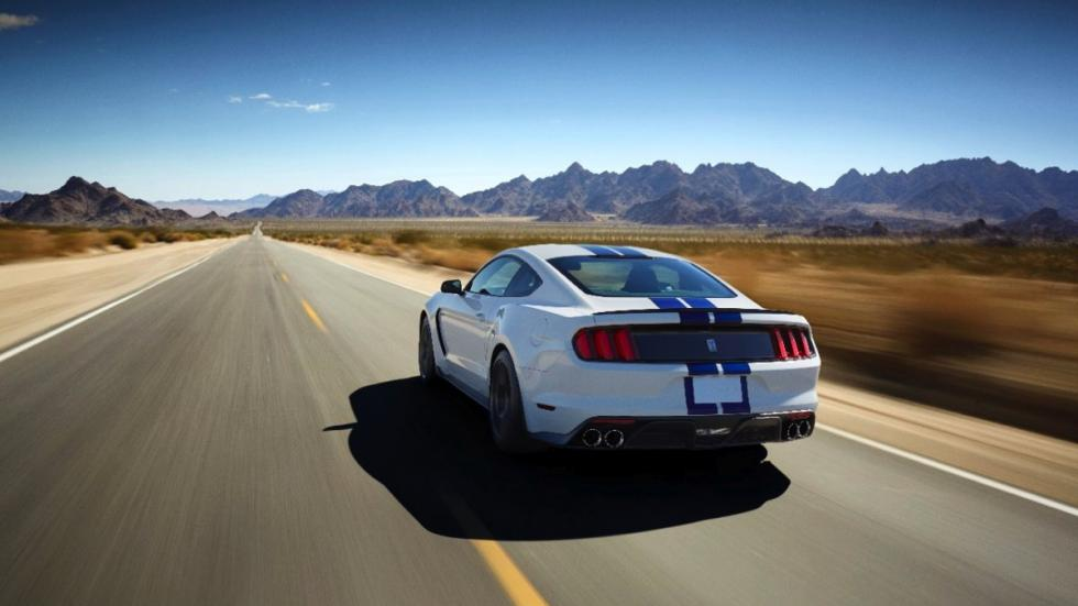 Shelby GT350 Mustang trasera