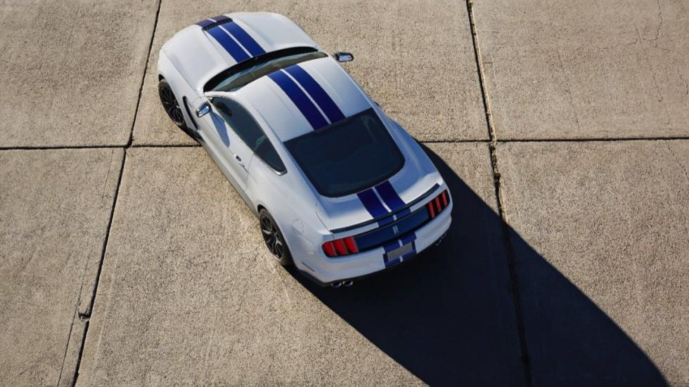 Shelby GT350 Mustang diseño