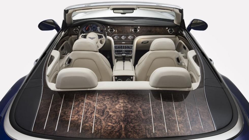 Bentley Grand Convertible techo