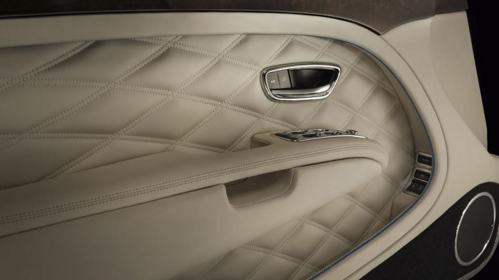 Bentley Grand Convertible interior