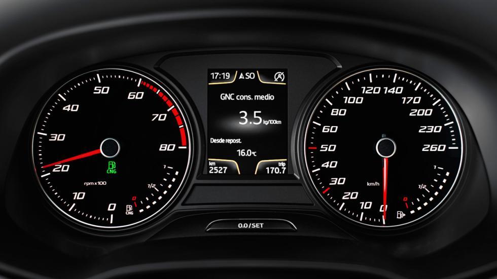 Seat León TGI panel control