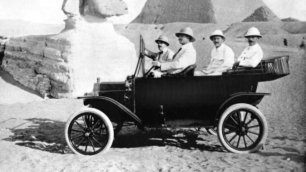 Coches americanos cambiaron mundo Ford Model T lateral