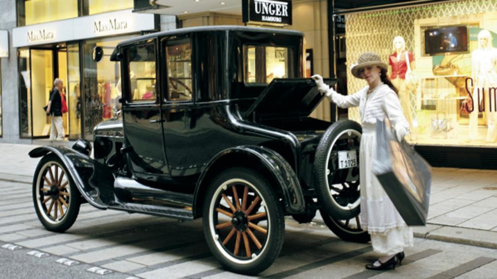 Coches americanos cambiaron mundo Ford Model T trasera
