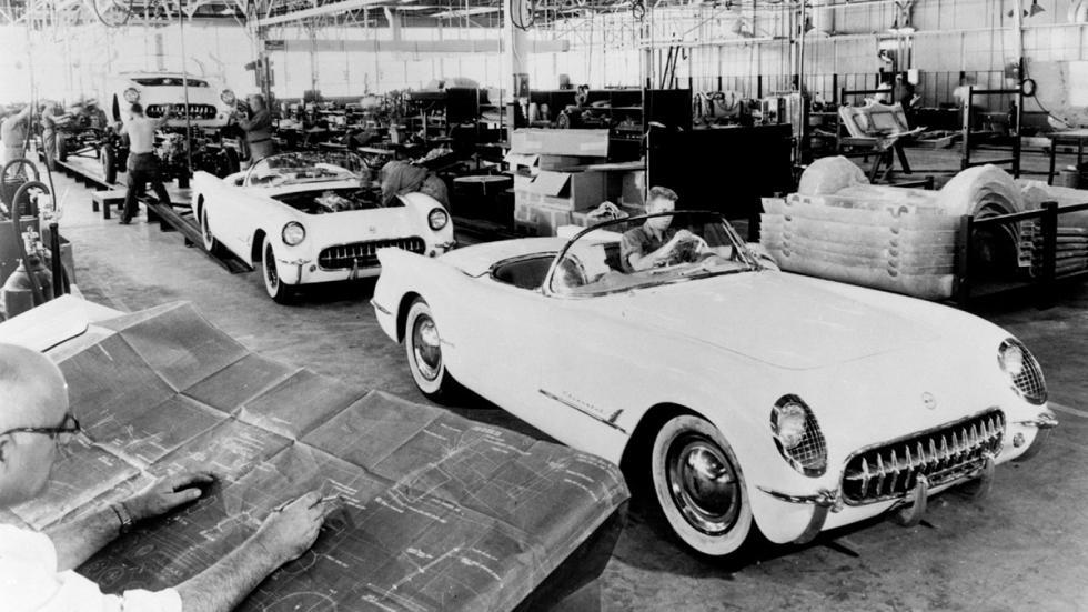 Coches americanos cambiaron mundo Chevrolet Corvette