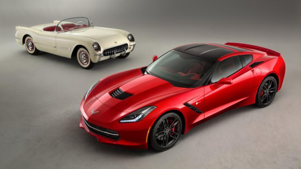 Coches americanos cambiaron mundo Chevrolet Corvette dos