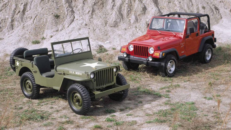 Coches americanos cambiaron mundo Jeep Willys grupo
