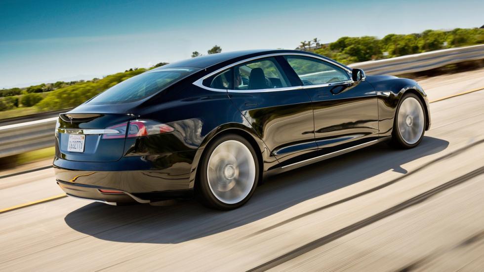 Coches americanos cambiaron mundo Tesla Model S zaga