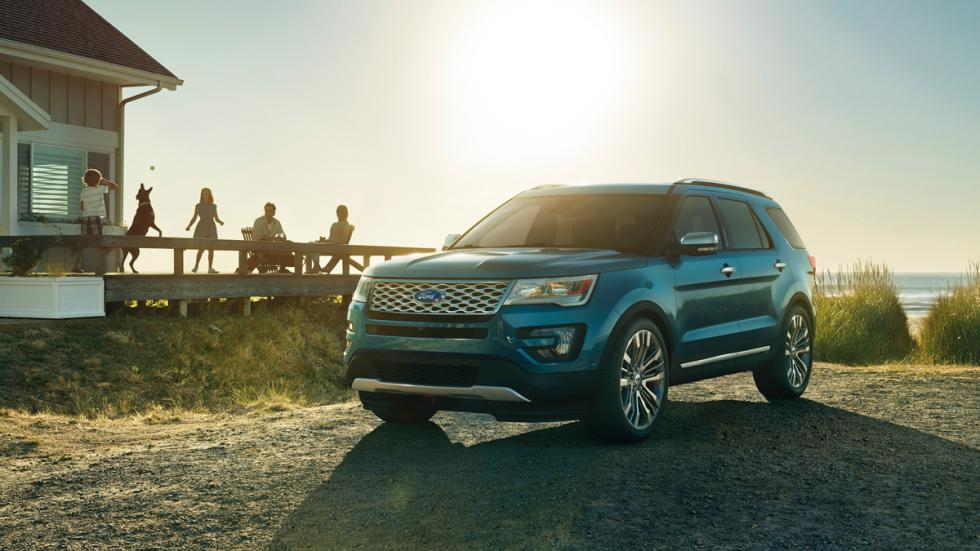 Ford Explorer 2015 frontal