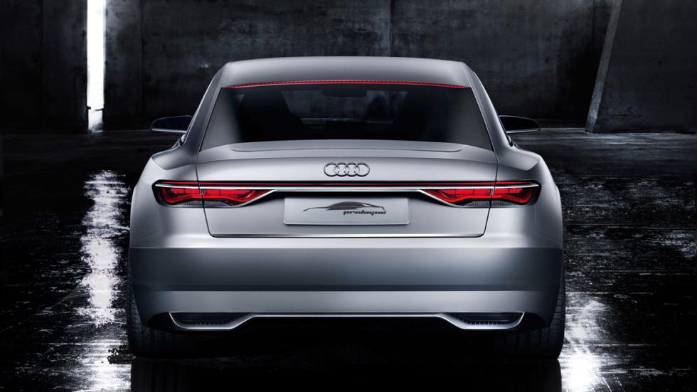 Audi A9  trasera