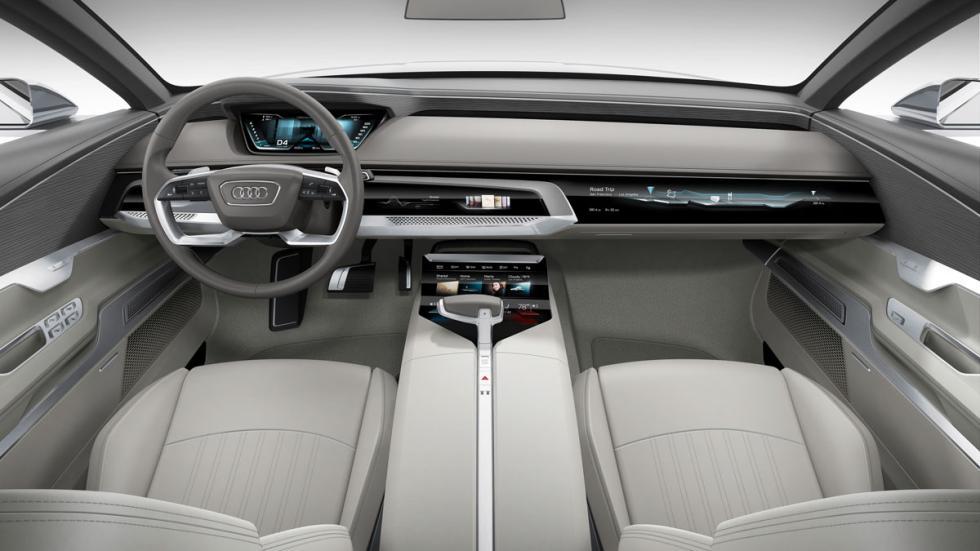 Audi A9 interior
