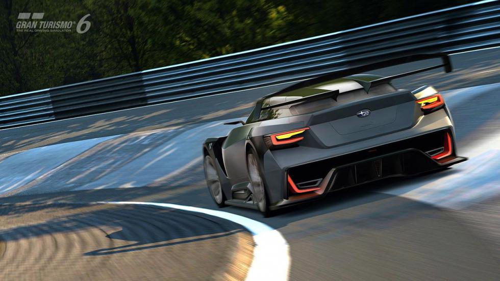 Subaru Viziv GT Vision Gran Turismo trasera