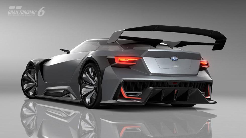 Subaru Viziv GT Vision Gran Turismo zaga