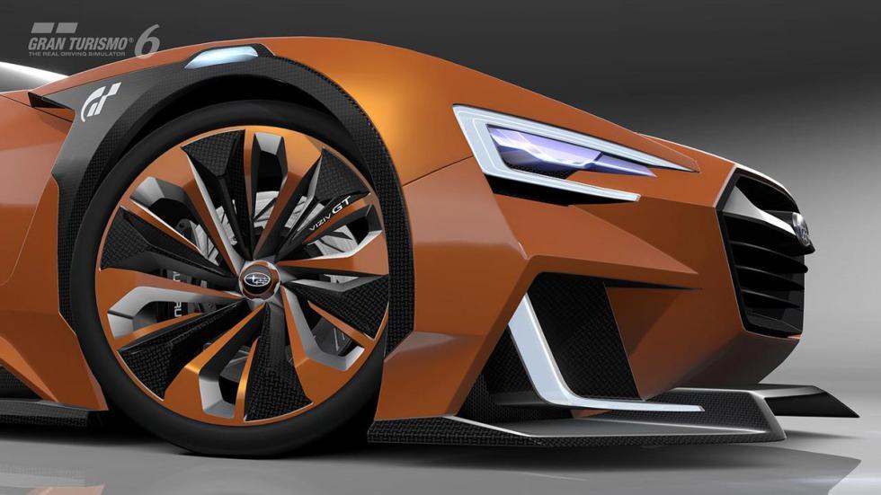 Subaru Viziv GT Vision Gran Turismo llanta