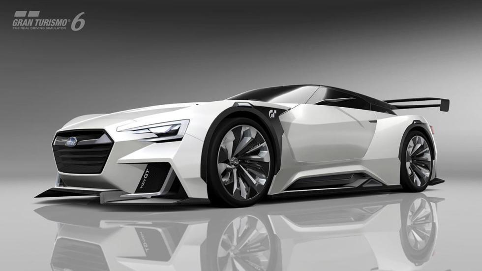 Subaru Viziv GT Vision Gran Turismo blanco