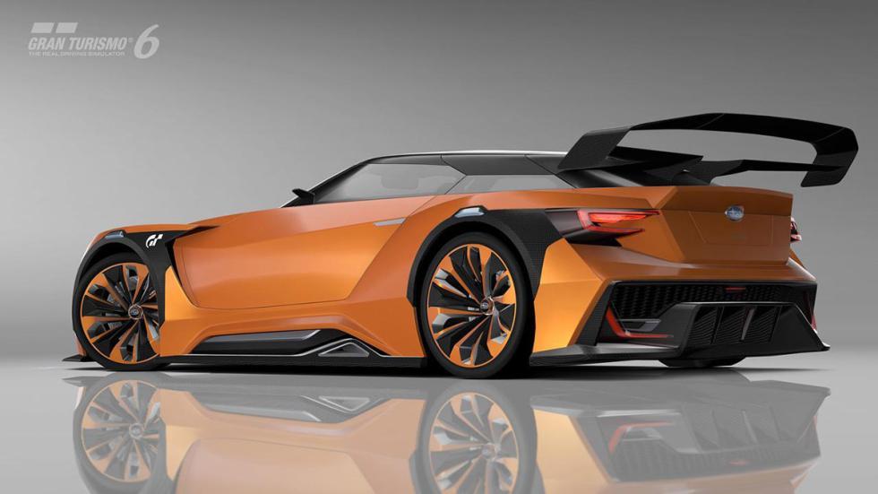 Subaru Viziv GT Vision Gran Turismo naranja